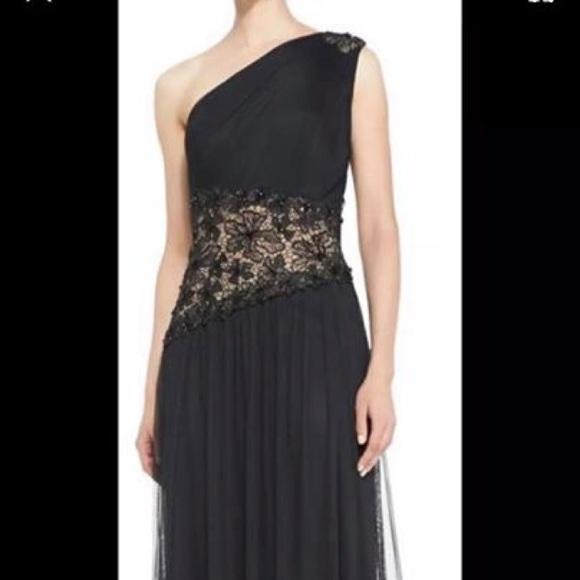 Tadashi Shoji Dresses | Black Dress Size 4 | Poshmark